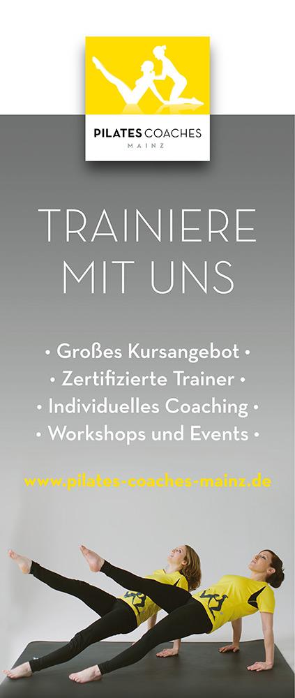 Pilates Coaches Mainz - Rollup 2015